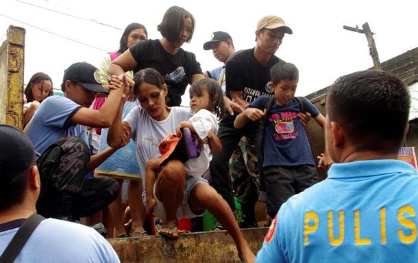 Тайфун на Филиппинах стал причиной гибели 2344 человек, более 3800 получили ранения.