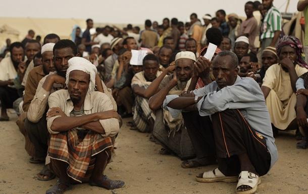 Властям Саудовской Аравии сдались 23 тысячи эфиопских нелегалов