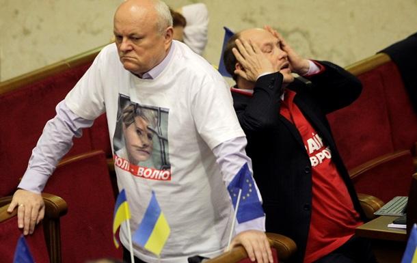 Партия регионов - оппозиция - законопроект - Тимошенко - ЕС - консенсус - ПР: Оппозиция зарегистрировала законопроект о лечении Тимошенко вопреки мнению миссии ЕС о консенсусе