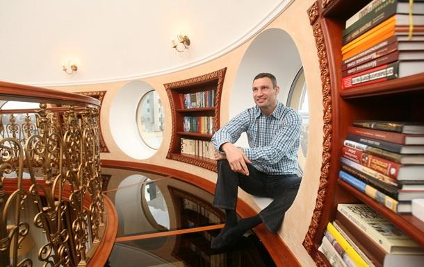 Дом возле оперы. Корреспондент побывал в квартире Виталия Кличко