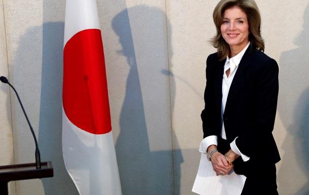 Дочь Кеннеди прибыла в Японию в качестве нового посла США