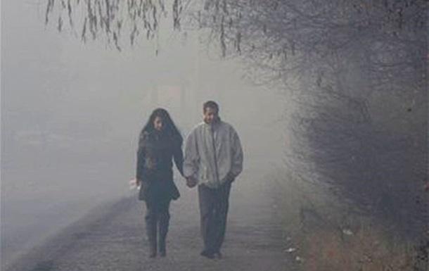 Сегодня Украину окутают туманы