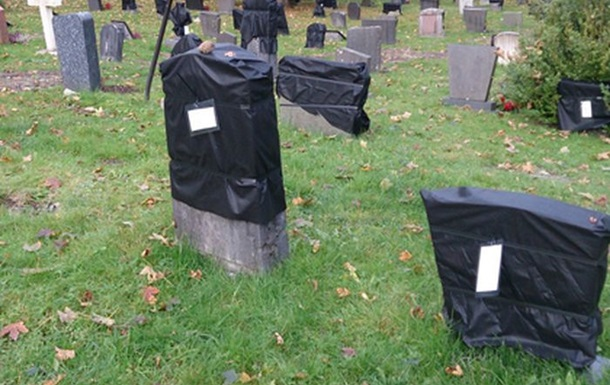 Жителям Норвегии напомнили об окончании срока аренды могил черными пакетами