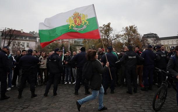 В Болгарии проходят митинги сторонников и противников политики правительства