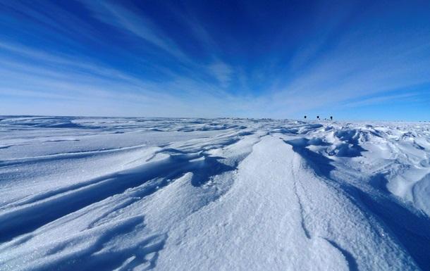 Лед Антарктики скрывает действующий вулкан