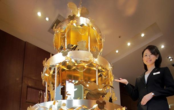 Новый год - елка - Новости Японии: В Токио продают новогоднюю елку из чистого золота за пять миллионов долларов