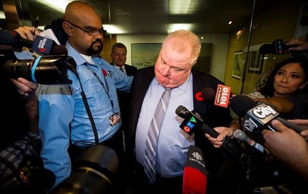 Мэра Торонто, уличенного в пьянстве и пристрастии к наркотикам, лишили оставшихся полномочий
