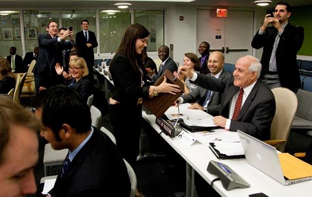 Палестина впервые проголосовала в ООН