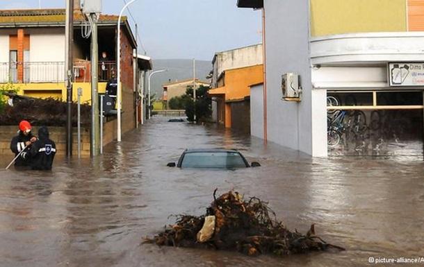 Смертоносная Клеопатра. Число жертв урагана на Сардинии возросло до 14