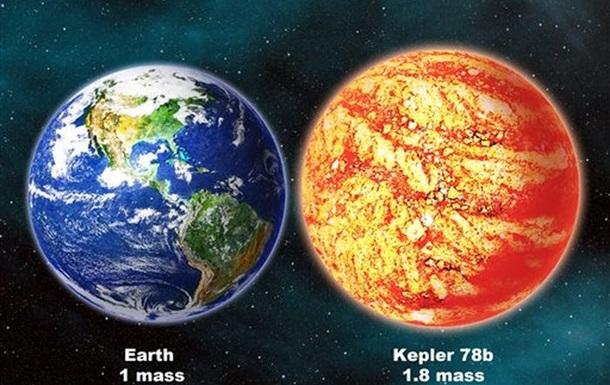 Экзопланета Kepler-78b: как Земля, но горячее