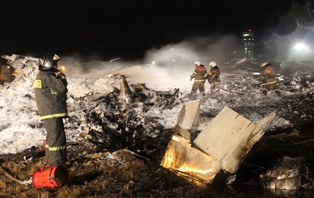 Крушение самолета в Казани - капсула с записью переговоров пилотов перед тем, как самолет упал, вылетела из черного ящика