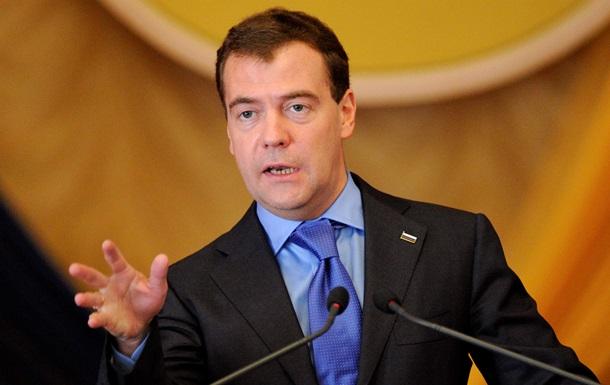 Встреча Азарова с Медведевым длилась два часа