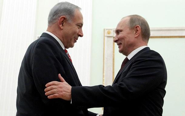 Встретившись с Путиным, Нетаньяху провел параллель между сирийским химоружием и иранской ядерной проблемой