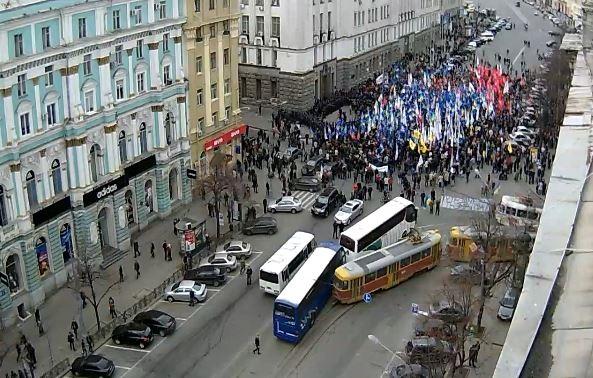 Новая акция от оппозиции:  постоите за ЕС  за 20 грн?