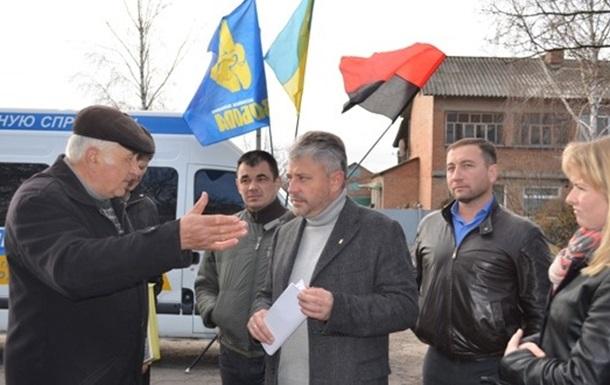 Народний депутат-свободівець Юрій Бублик прозвітував перед громадами