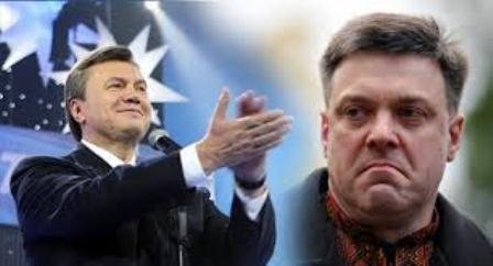 Украина 2015: Янукович VS Тягнибок?