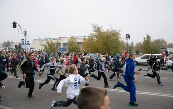 В Энергодаре прошел ХХХ осенний марафон
