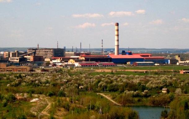 У м.Калуш Івано-Франківської області розпилюють сульфатну фабрику