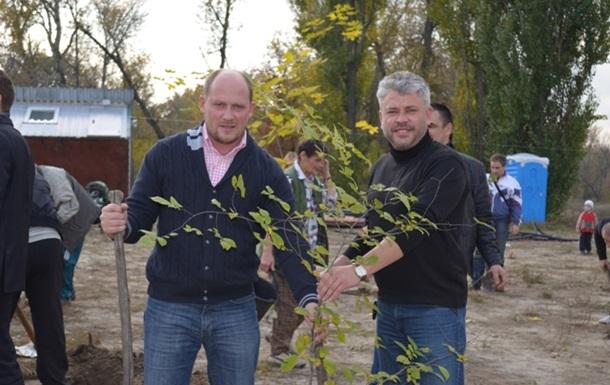 Полтавські свободівці разом із громадою заклали парк «Сили громади»