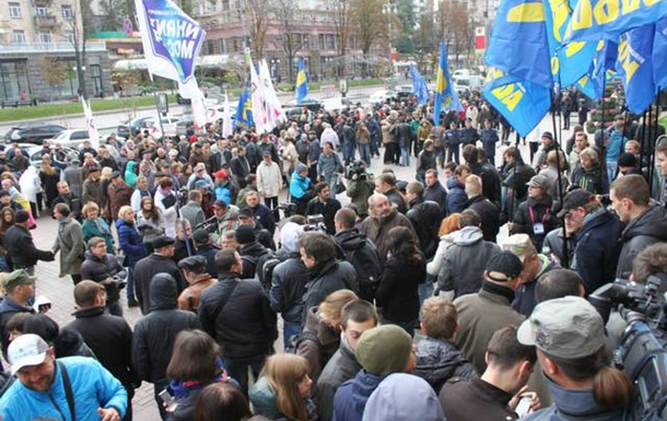 Штурм Київради: міркування вулиці