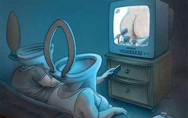 Внимание!!! Телевидение Украины опасно для жизни.