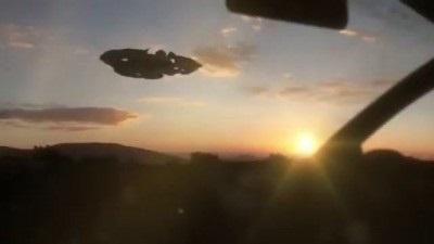 Для кого-то НЛО, а я уверен это современные виды летательных аппаратов