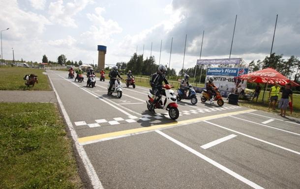 Чайка принимала гостей и участников - Мотогонки на Скутерах!