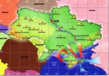 Распад Украины. Независимый Крым