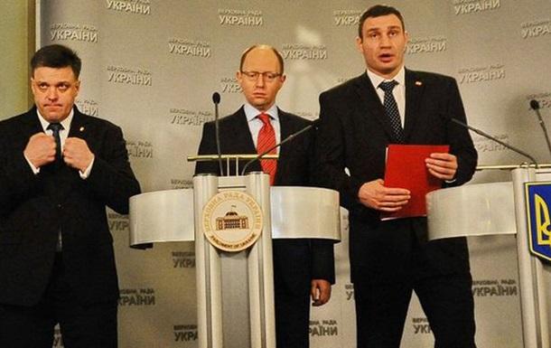 Лебедь, Щука и Рак боятся Януковича
