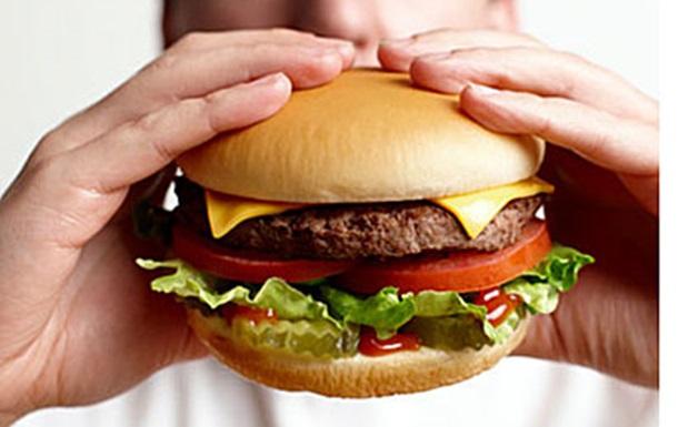 Гамбургер и крест