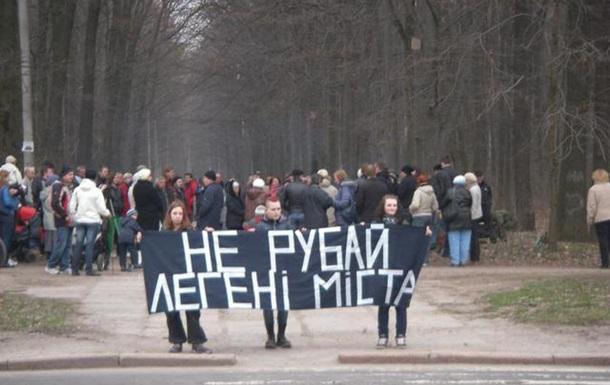 Вінничани продовжують боротьбу за легені міста