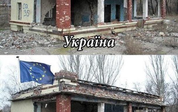 ЕС Украине не светит. Всё упирается в коррупцию.