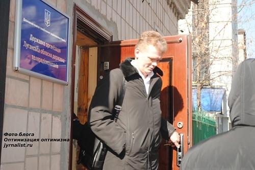 Зустріч в Луганську