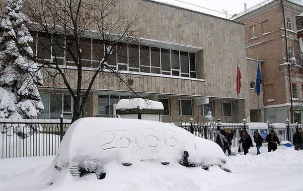 Киевский снежный завал