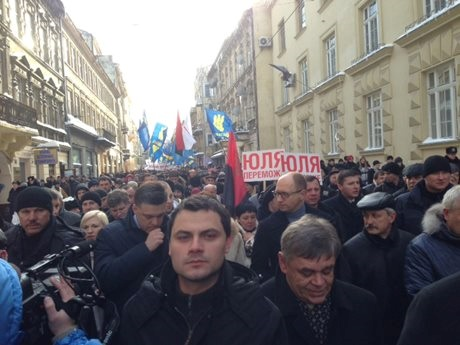 Лідер - це ТИ. Марш опозиції у Львові. ФОТО + ВІДЕО