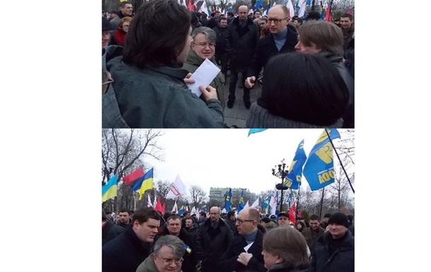 Політтехнолог БЮТ Медведев постачає Яценюку секретну інформацію, а не гроші.