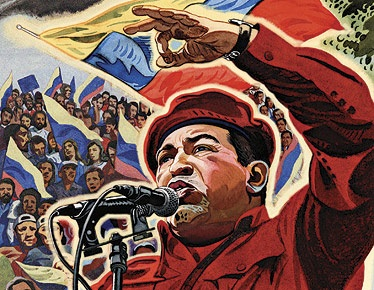 Viva Chaves! Viva revolution! Віва Революція! Віва Чавес!