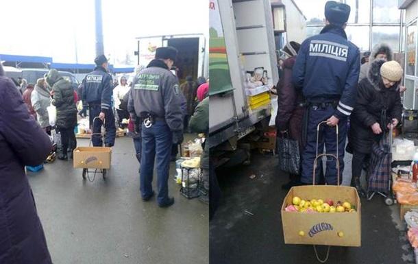 Украинская столица - яблоки милиции и маршрутки мэрии