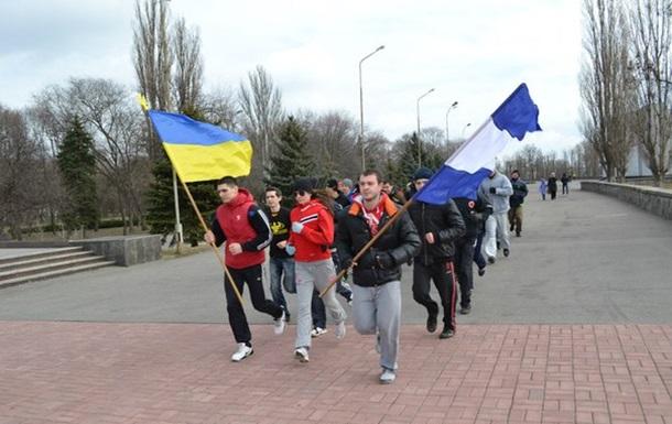 Ранкова пробіжка за здоровий спосіб життя в Кременчуці