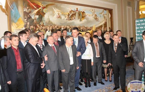 Свобода по максимуму извлекает выгоды из похода Тягнибока в посольство Израиля