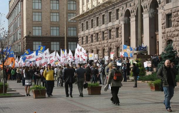 Почему оппозиция может проиграть Киев