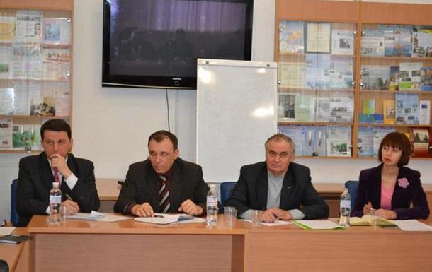 Выездное заседание стачкома в Днепропетровске.