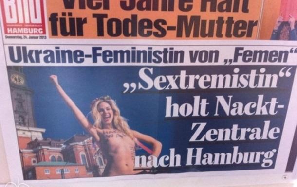Что для украинца хорошо, то немцу -  FEMEN!