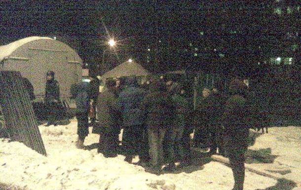 Заборы в Киеве сегодня снова пошатнулись