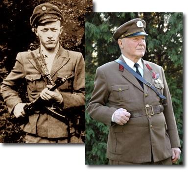 Сьогодні знаменитому сотенному УПА Мирославу Симчичу (Кривоносу) виповнилося 90