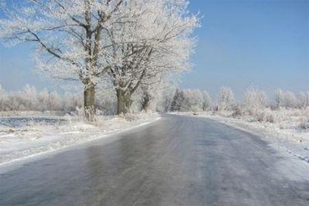 Крым в плену льда