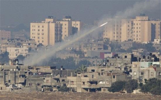 Ракеты ХАМАСа против Храма Гроба Господня