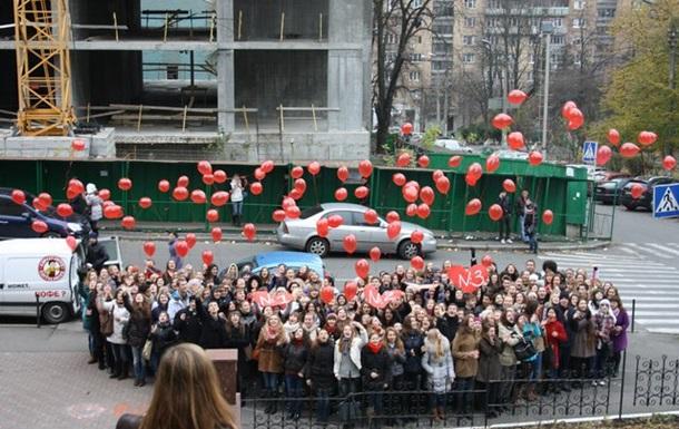 Святковий ФЛЕШМОБ студентів Київського національного лінгвістичного університету