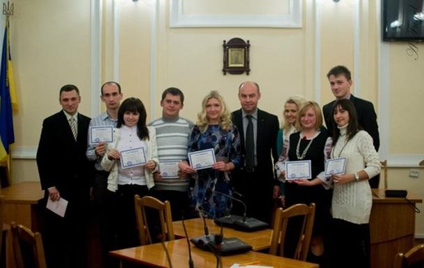 Тернопільська молодь отримала Сертифікати  про стажування  в міській раді