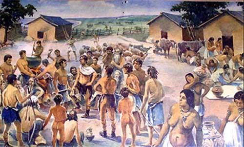 Матеріальна і духовна культура трипільської цивілізації.